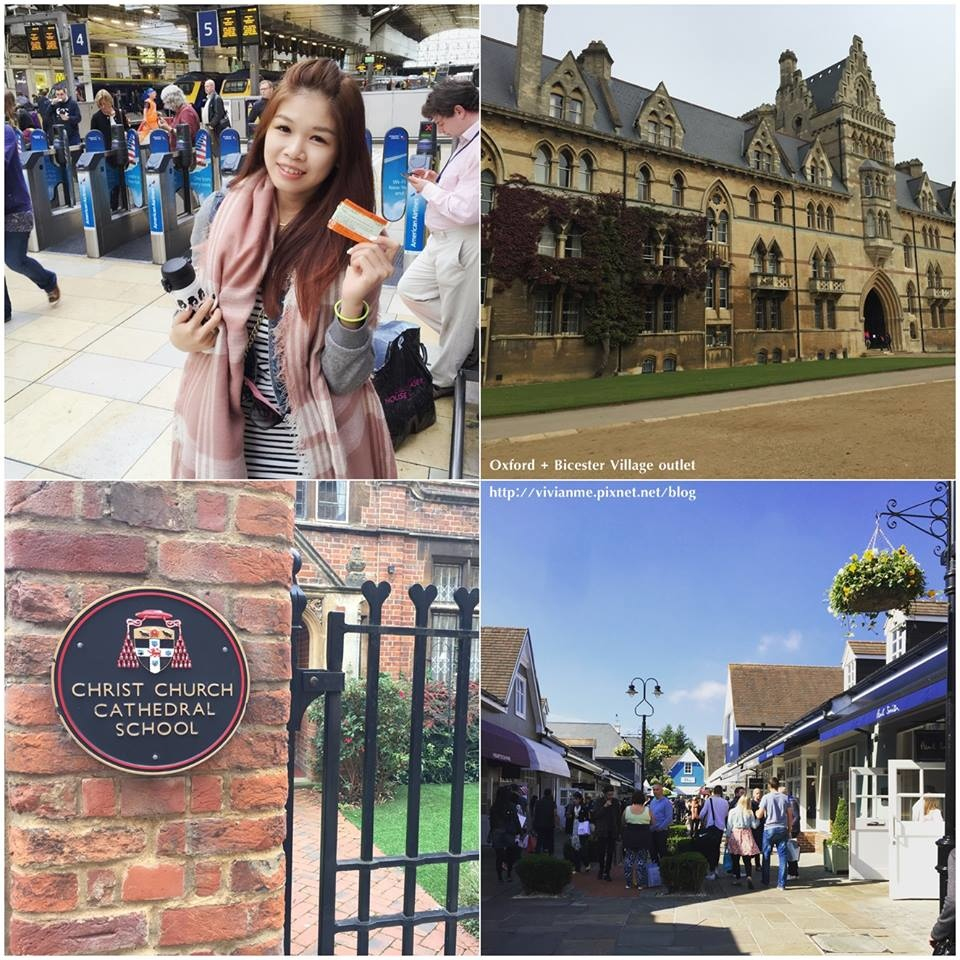 [旅遊]英國。Oxford牛津大學城 + Bicester village outlet 倫敦近郊一日遊