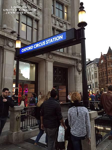 [旅遊]倫敦。最迷人的一條購物街 | 牛津街、牛津圓環Oxford Street