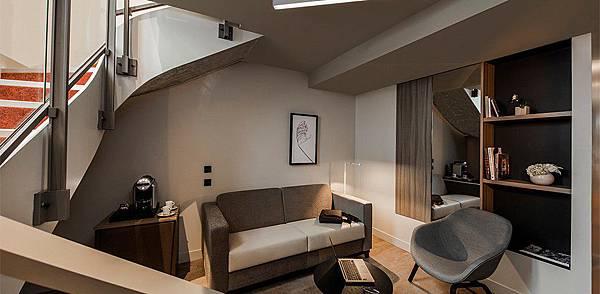 Photo credit:Hotel Best Western Premier Opera Liege (SUITE)