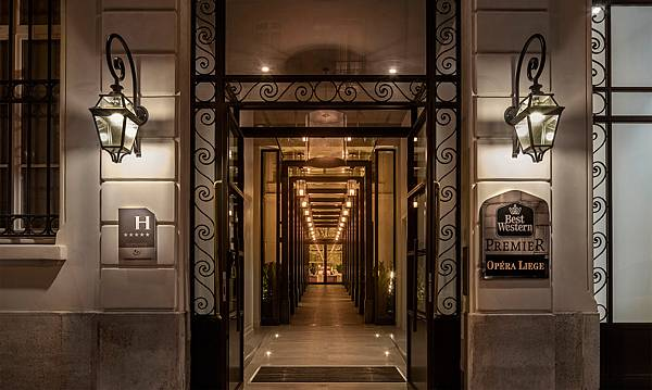 Photo credit:Hotel Best Western Premier Opera Liege