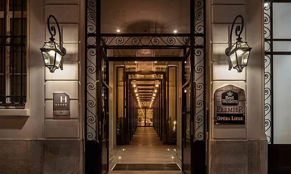 Photo credit:Hotel Best Western Premier Opera Liege