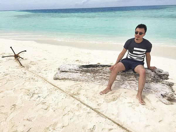 馬爾地夫無人島