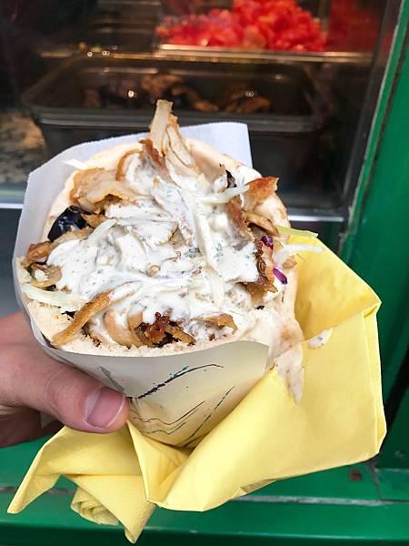 中東口袋餅Las du fallafel