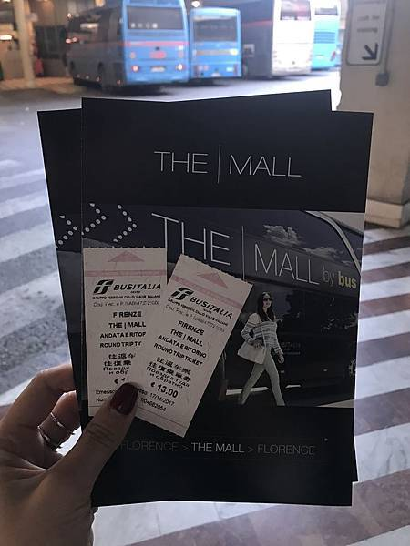 Italy 義大利 佛羅倫斯The  Mall outlet