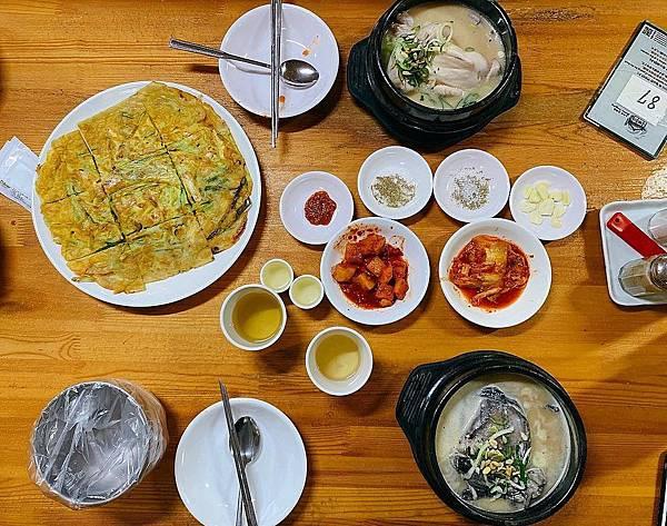 土俗村蔘雞湯(토속촌삼계탕)
