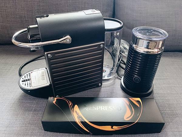 【Nespresso】膠囊咖啡機 Pixie 鈦金屬