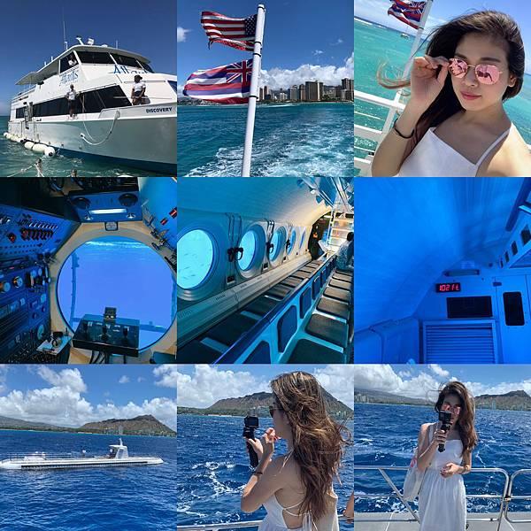 夏威夷歐胡島亞特蘭提斯潛水艇