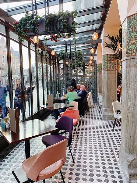 Hotel Amsterdam - De Roode Leeuw餐廳