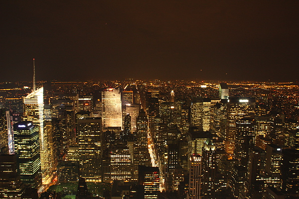 Night view@Empire state building