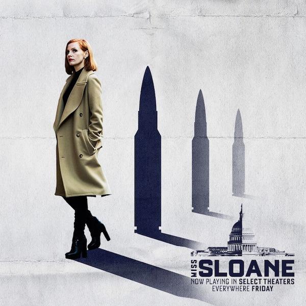 【電影心得推薦】攻敵必救 Miss Sloane,她說她不知道界線在哪裡