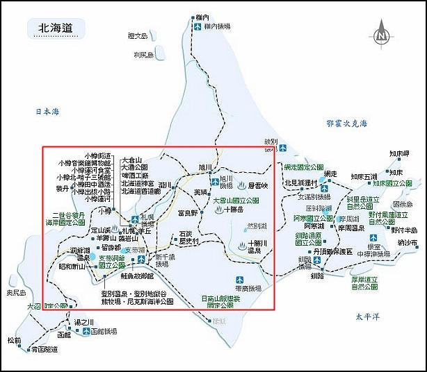 北海道地圖-1