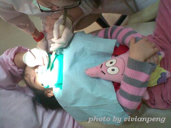 991215小緹看牙醫-5