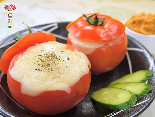 焗烤蕃茄盅 (2)