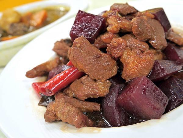甜菜根滷肉