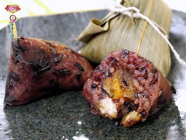 紅麴紫米一口粽 (3)