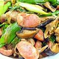 香菇香腸蒜炒雞 (2)-壓標