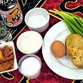 韓式馬鈴薯泡菜煎餅-壓標