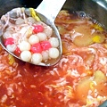 紅麴甜酒釀湯圓 (2)-壓標