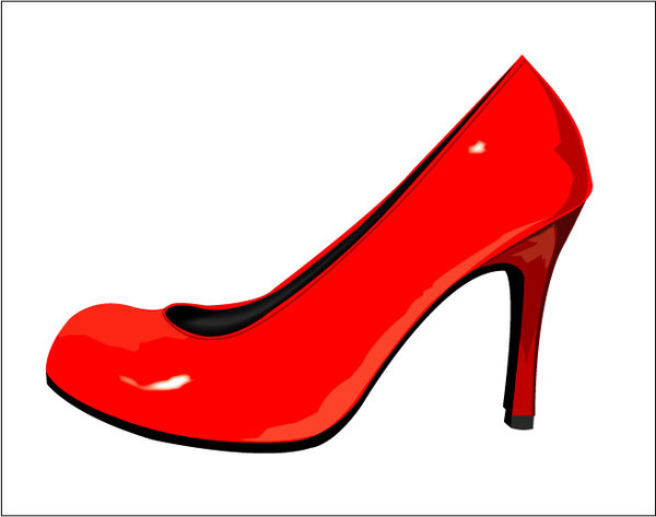 繪圖 - 高跟鞋