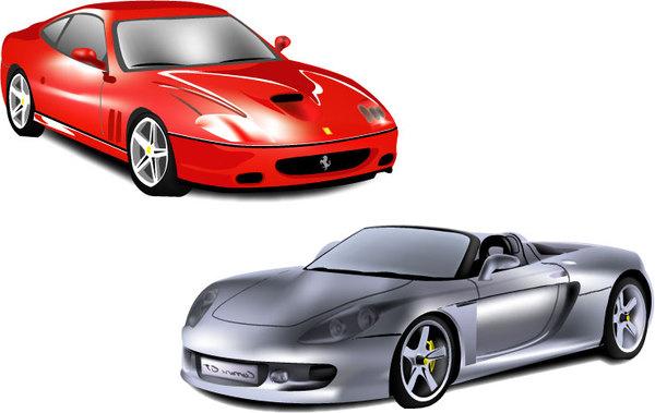 繪圖 - 技術插畫車子