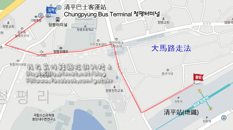 到清平巴士客運站大馬路