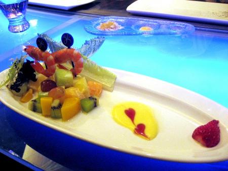 沙拉-鮮蝦水果沙拉