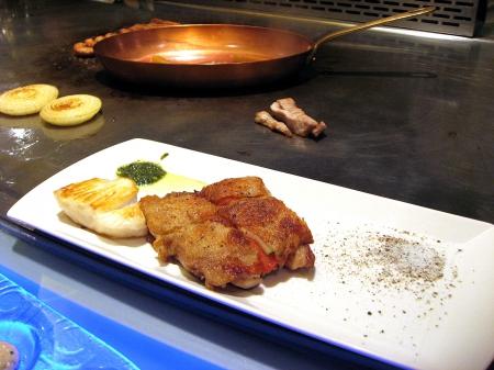 主餐-普羅旺斯雞排海鮮雙併