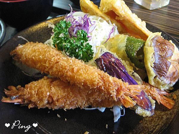 炸蝦什錦天婦羅定食