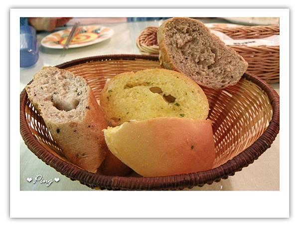 餐前麵包(三選二)