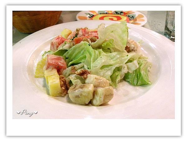 開胃菜-季節優格水果沙拉