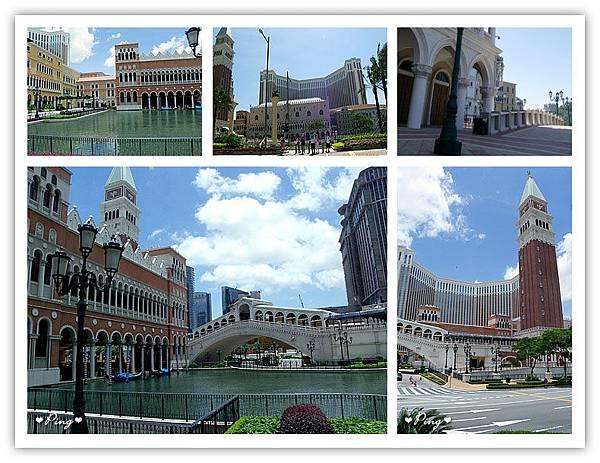 威尼斯人酒店周圍景致