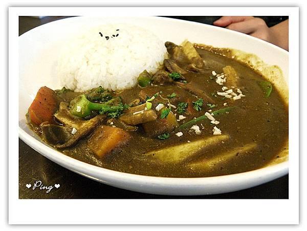 綜合蔬菜咖哩飯
