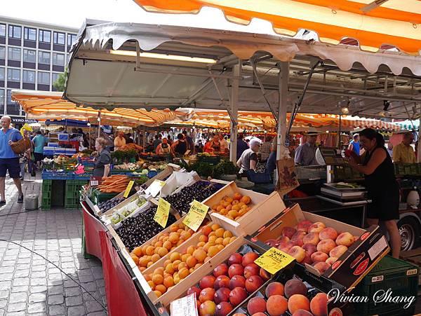 每週二四六市集,水果超新鮮