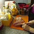 煮雞肉咖哩~