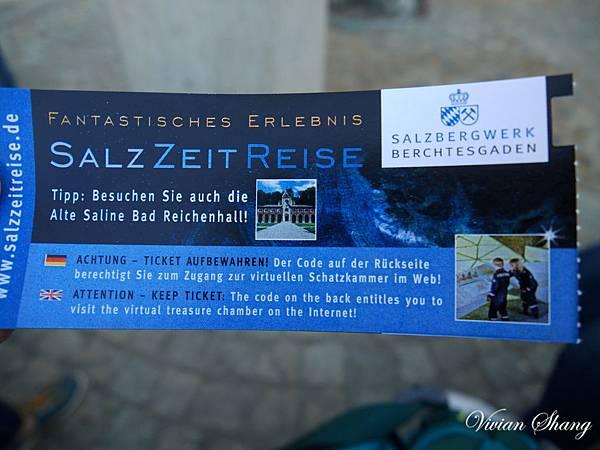 Salzbergwerk鹽礦探險