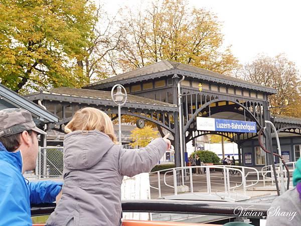 Lucerne/Luzern-搭船前往Pilatus