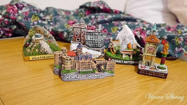 紀念品-小房子 模型
