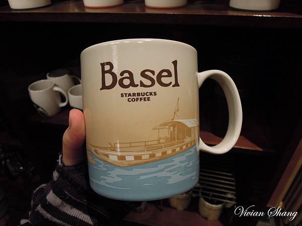 Basel 巴塞爾 星巴克杯 Starbucks mug