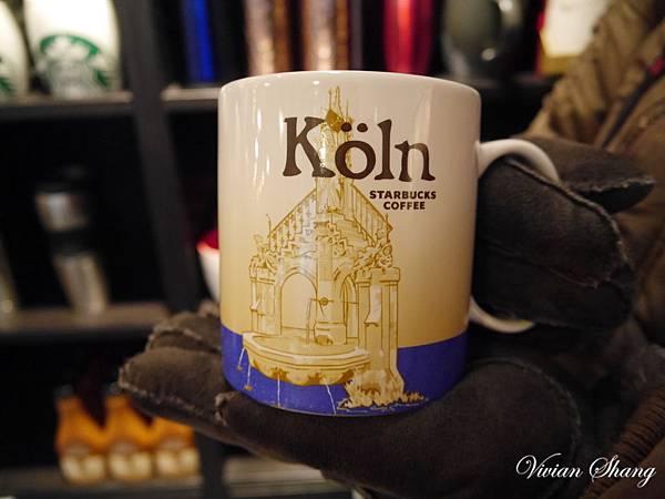 Köln Starbucks mug- 科隆星巴克城市杯