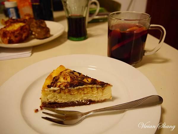Cheese cake& Glühwein