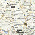 德國自駕之旅路線圖