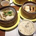 喫茶套膳-(主菜)桂香珍魚、(配菜)碧螺春鮮嫩豆腐 NT 380/套