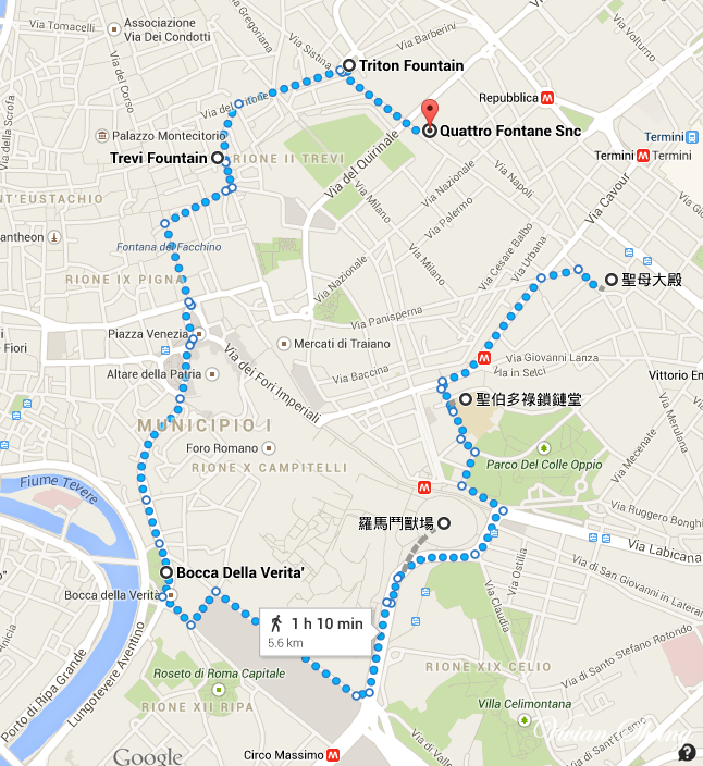 漫步路線Map01