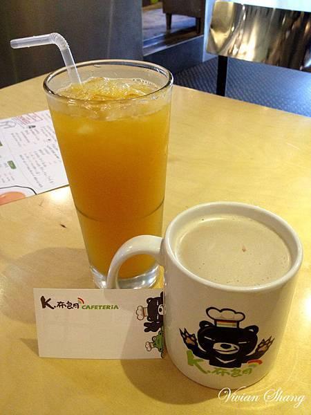 K.布朗Cafeteria 飲品
