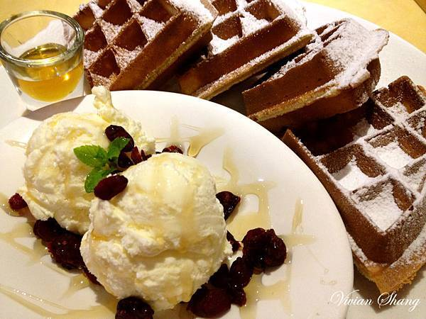 K.布朗Cafeteria 蜂蜜鬆餅