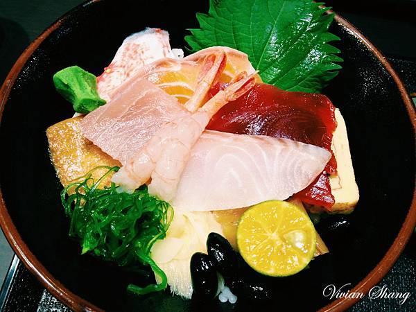 招牌海鮮丼 $150