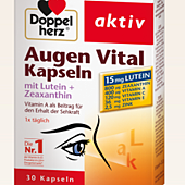 Doppelherz Augen Vital Kapselnmit Lutein + Zeaxanthin 30st