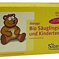Sidroga Bio Säuglings -und Kindertee (20 stk) 有機嬰兒與兒童草本茶