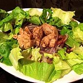 鱈魚肝沙拉