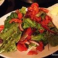 蘿美生菜沙拉+奶油吐司
